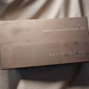 Kenneth Cole New York Other - Kenneth Cole NY Travel Chess Checkers Set